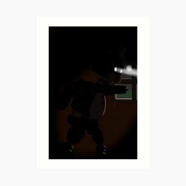 Ignited Freddy Art Print