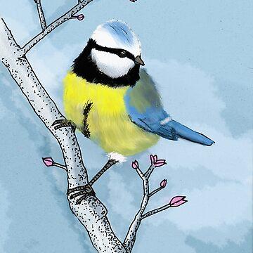 Kohlmeise - Alle Vögel sind schon da von CGoltz