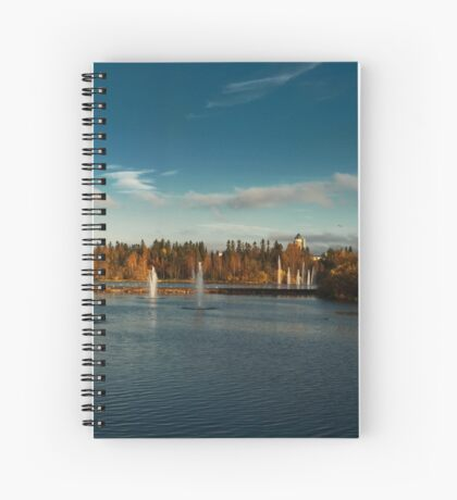 Oulu panorama Spiral Notebook