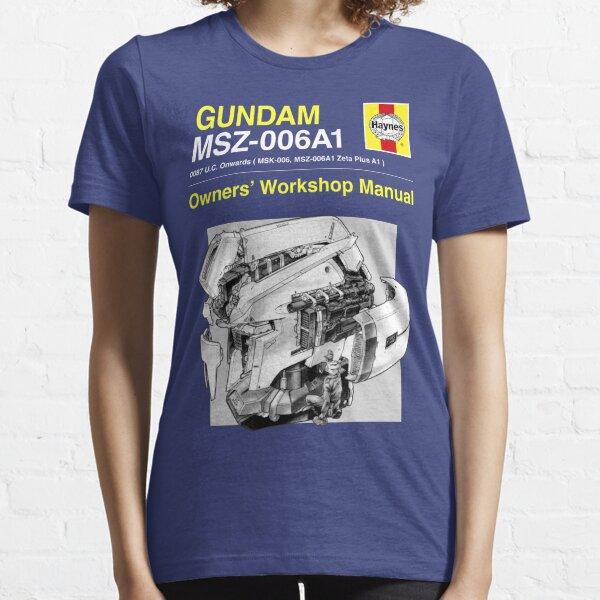Gundam Zeta Plus - Owners' Manual Essential T-Shirt