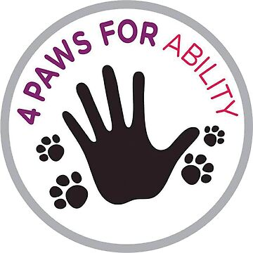 4 Paws For Ability logo by gabsycakes