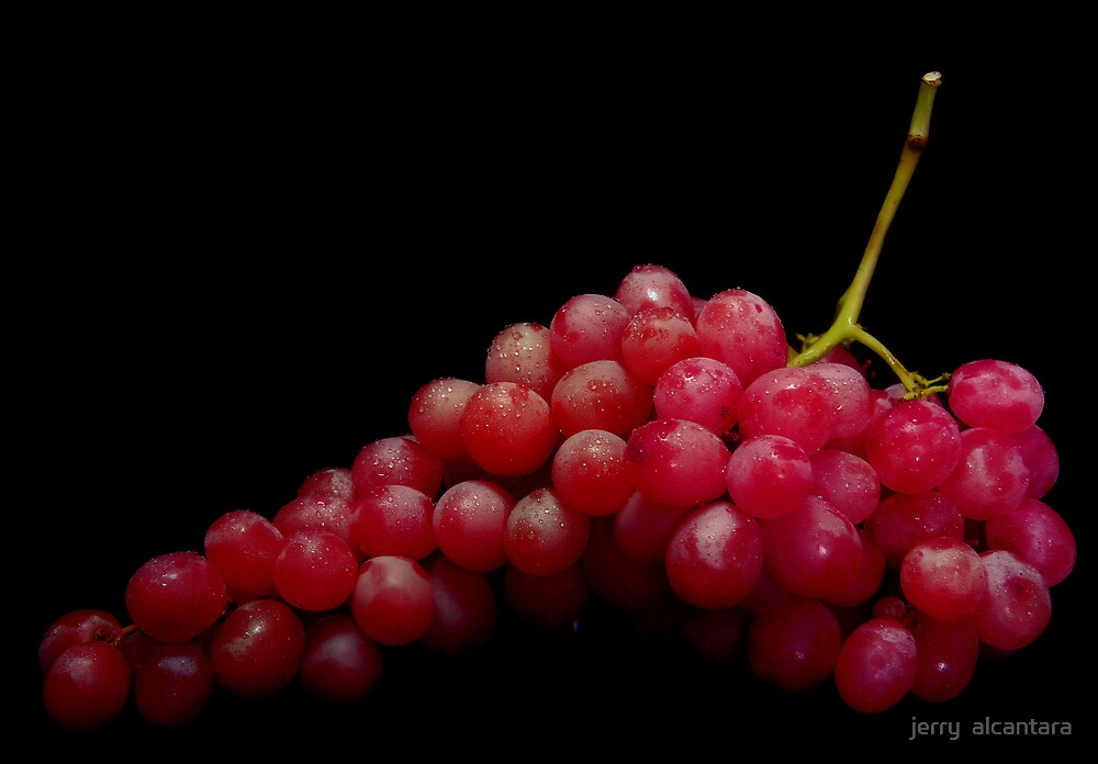 Red Grapes by jerry  alcantara