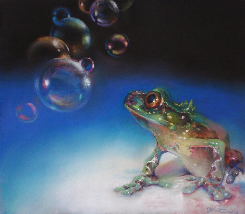 bubbles in the air by Koyomi Waki