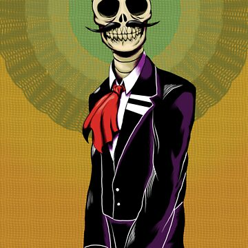 Mariachi Calaca by Antiismist
