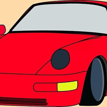 Porsche 911 by brick86
