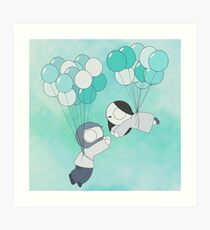 Fly With Me! Art Print