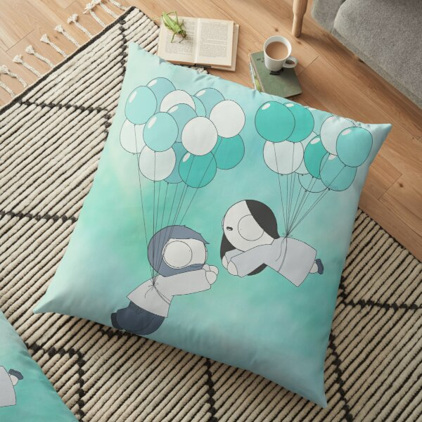 Fly With Me! Floor Pillow