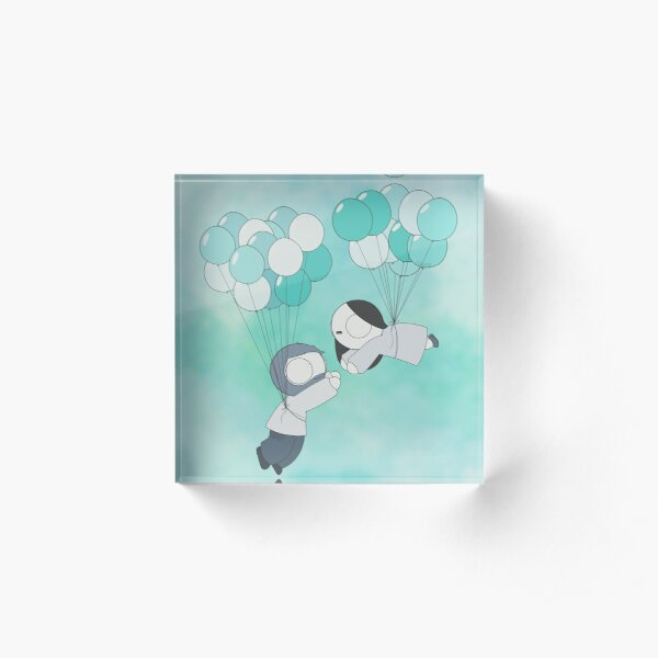 Fly With Me! Acrylic Block