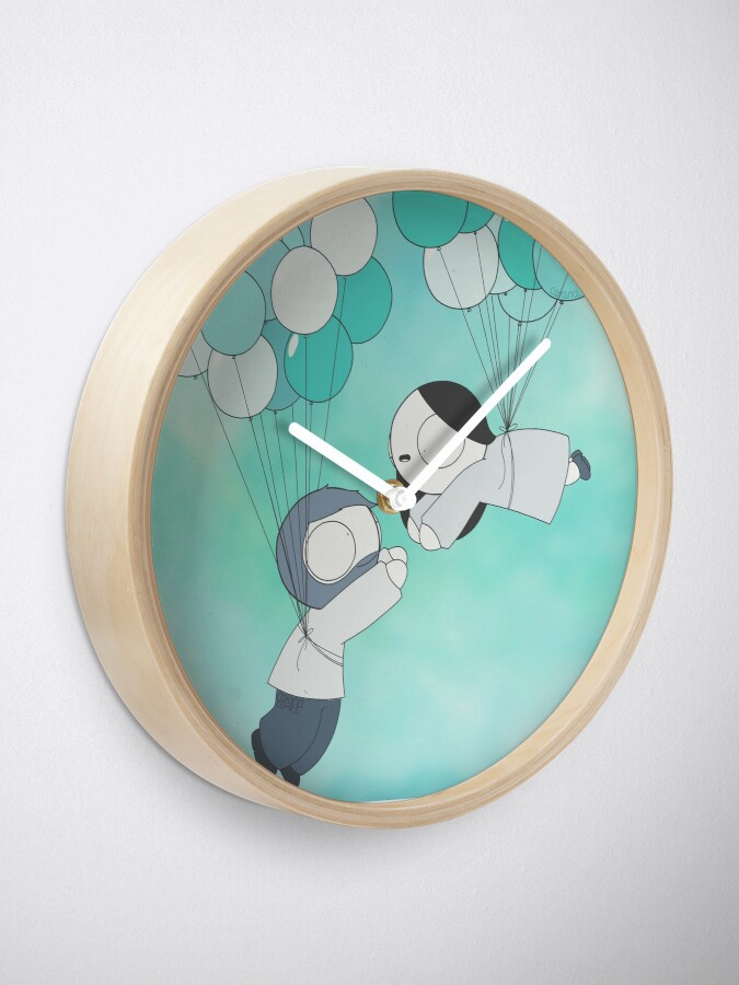 Alternate view of Fly With Me! Clock
