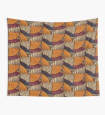 Hot and Warm African Wax Print Wall Tapestry