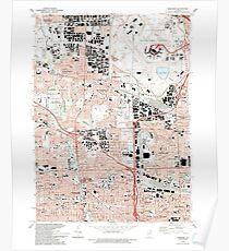 USGS TOPO Map Illinois IL Elmhurst 307504 1993 24000 Poster