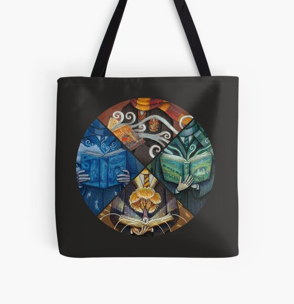 Books Magic All Over Print Tote Bag