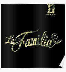 J Balvin - LaFamilia Poster