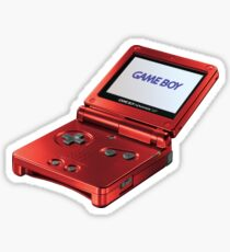 Gameboy Red Sticker