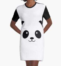 PANDA Graphic T-Shirt Dress