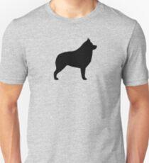 Schipperke Silhouette(s) Unisex T-Shirt