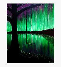 Aurora's Swing Photographic Print