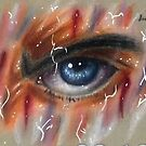 the eye of a limit breaker by Grekoarts