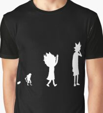Rick Evolution Graphic T-Shirt