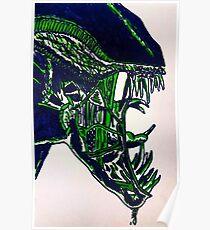 Alien Xenomorph - print Poster