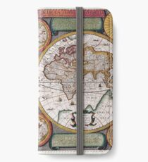 Old Map #1 iPhone Wallet