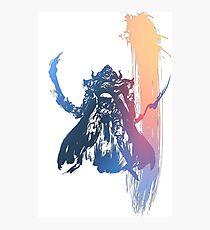 -FINAL FANTASY- Final Fantasy IV Photographic Print