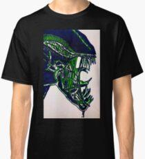 Alien Xenomorph - print Classic T-Shirt