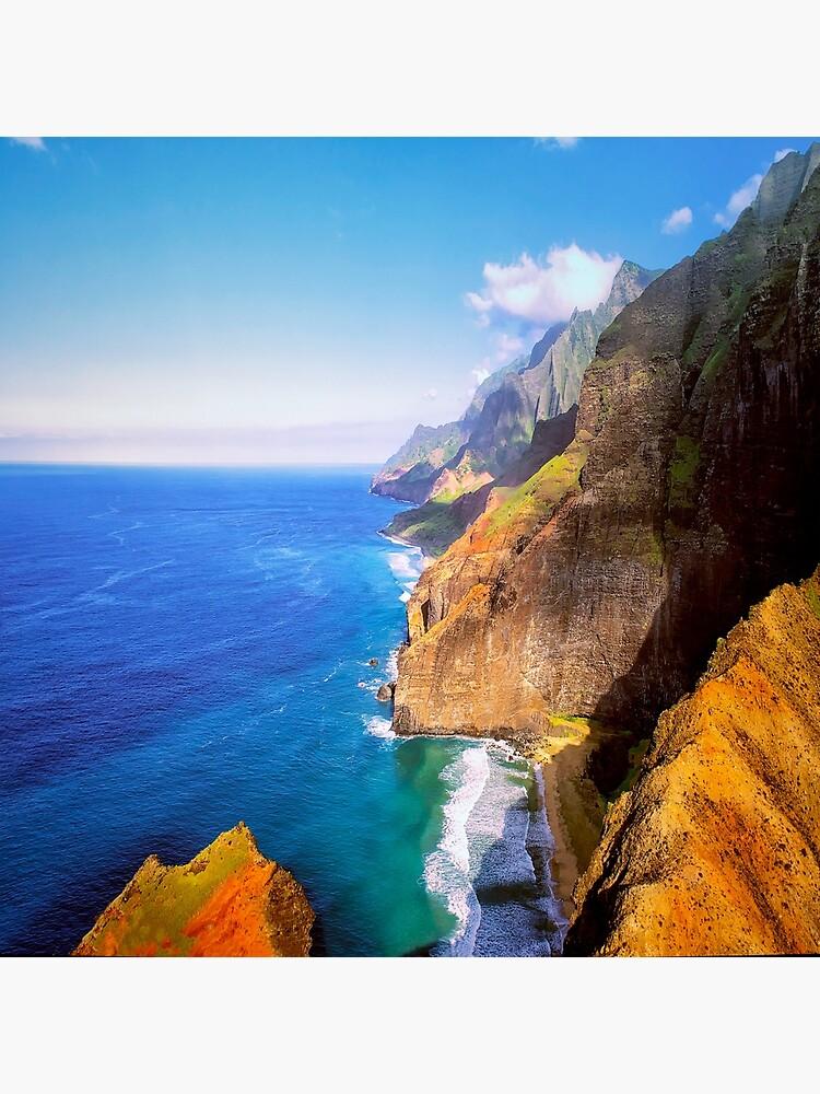 North Na Pali Coast by ArtOLena