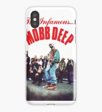 Mobb Deep The Infamous cover art iPhone Case/Skin