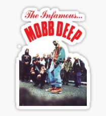 Mobb Deep The Infamous cover art Sticker
