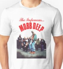 Mobb Deep The Infamous cover art Unisex T-Shirt