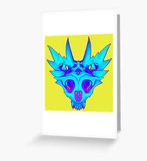 HorndSkull - ChilldMap Greeting Card