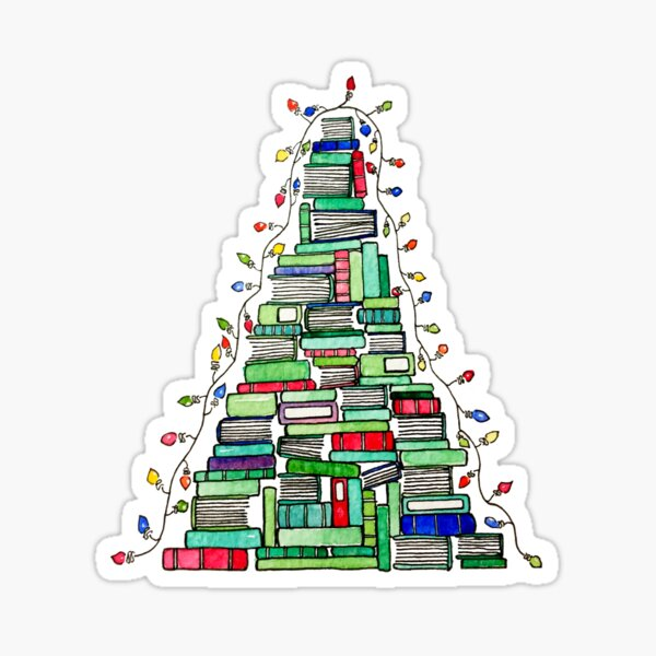 Christmas Book Tree: 2017 Sticker