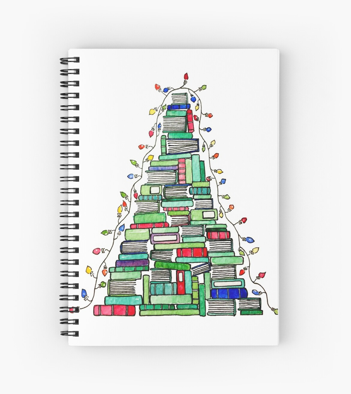 Christmas Book Tree: 2017 by Emma Mildred Riggle