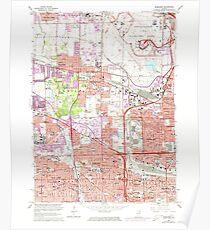 USGS TOPO Map Illinois IL Elmhurst 307509 1963 24000 Poster