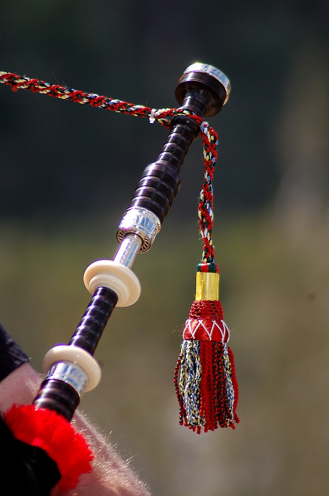 Bagpipe Tassel by Cynde143