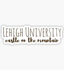 Lehigh Universität Berg Sticker