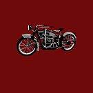 Ace 1924 classic motor bike by Boxzero
