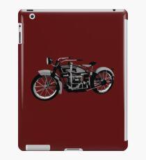 Ace 1924 classic motor bike iPad Case/Skin