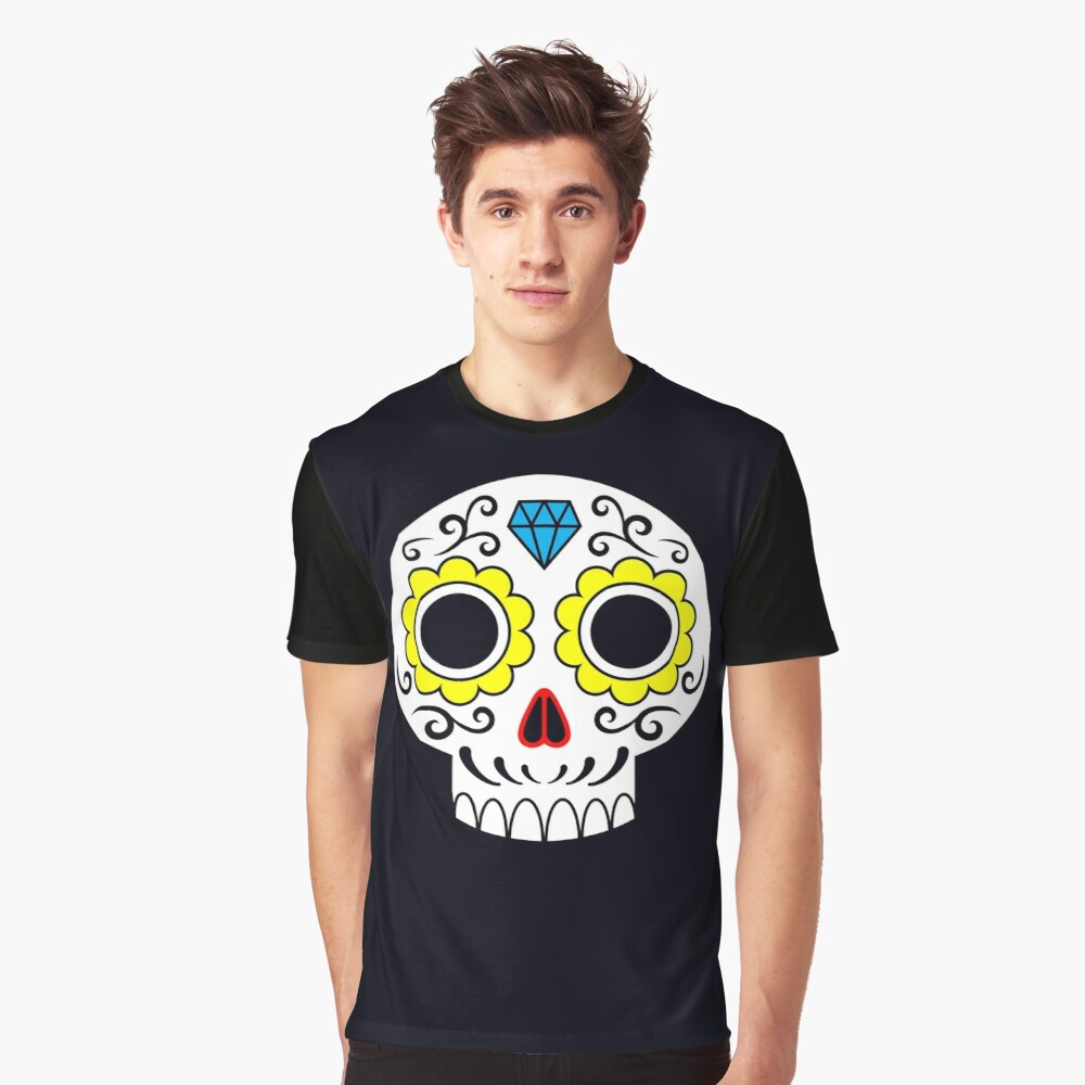 Sugar skull for a cake Graphic T-Shirt