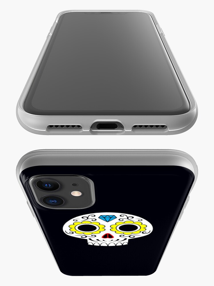 Alternate view of Sugar skull for a cake iPhone Case & Cover