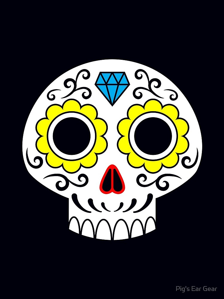 Sugar skull for a cake by adorman