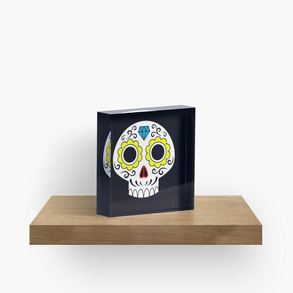 Sugar skull for a cake Acrylic Block