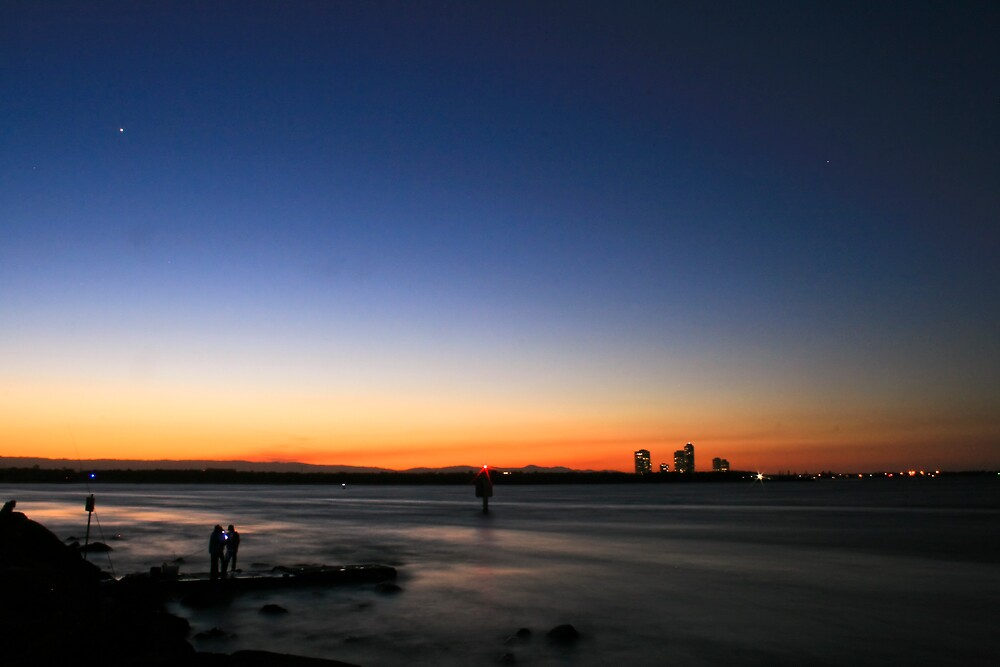 Seaway Sunset by andrewt