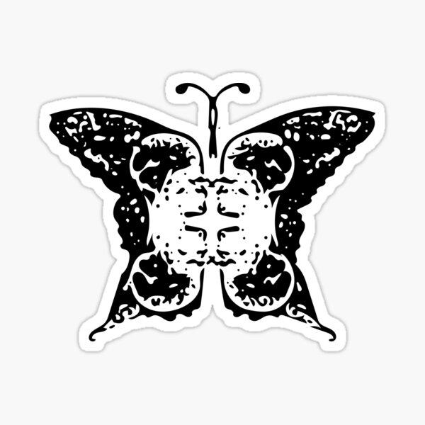 Nevermind Butterfly (Bold Edition) Sticker