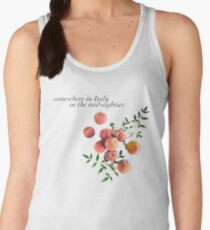Call Me By Your Name - Inscription Women's Tank Top
