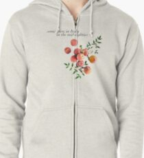 Call Me By Your Name - Inscription Zipped Hoodie