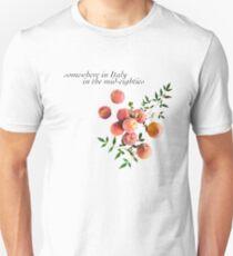 Ruf mich mit deinem Namen an - Inschrift Slim Fit T-Shirt