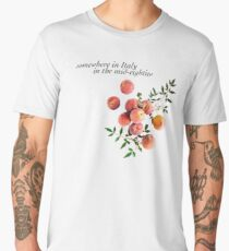 Call Me By Your Name - Inscription Men's Premium T-Shirt