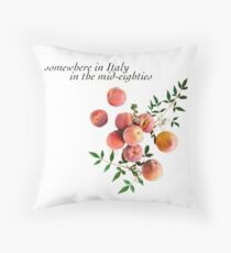 Call Me By Your Name - Inscription Throw Pillow